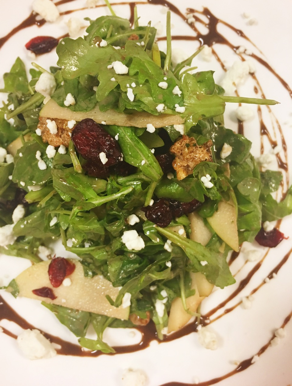 A fresh American Cuisine salad featured at Blue Hill Tavern in Brewer's Hill, Baltimore, MD